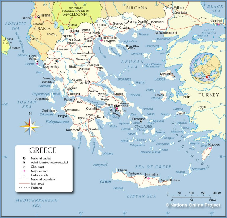 Greece-Political-Map
